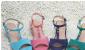 定做批发日单2011夏款波西米亚串珠坡跟凉鞋
