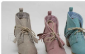 定做批发日单2011春款花瓣流苏鞋带擦色中跟踝靴/短靴