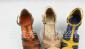 预定定做批发日单P家麻绳坡跟撞色凉鞋/高跟凉鞋
