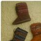 现货批发日单新款森林系登山扣女款雪地靴/中筒靴